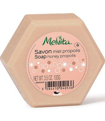 Melvita - 蜂膠花蜜沐浴皂-100g