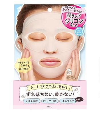 Japan buyer - BCL beauty矽膠滋潤面膜面罩-1枚入