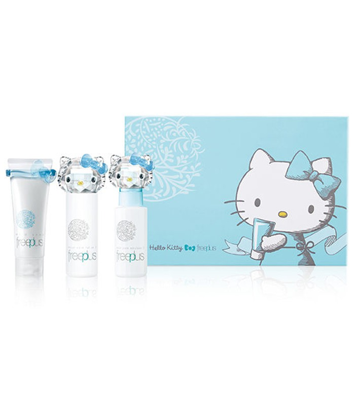 freeplus - Freeplus X Hello Kitty限量禮盒組-1組