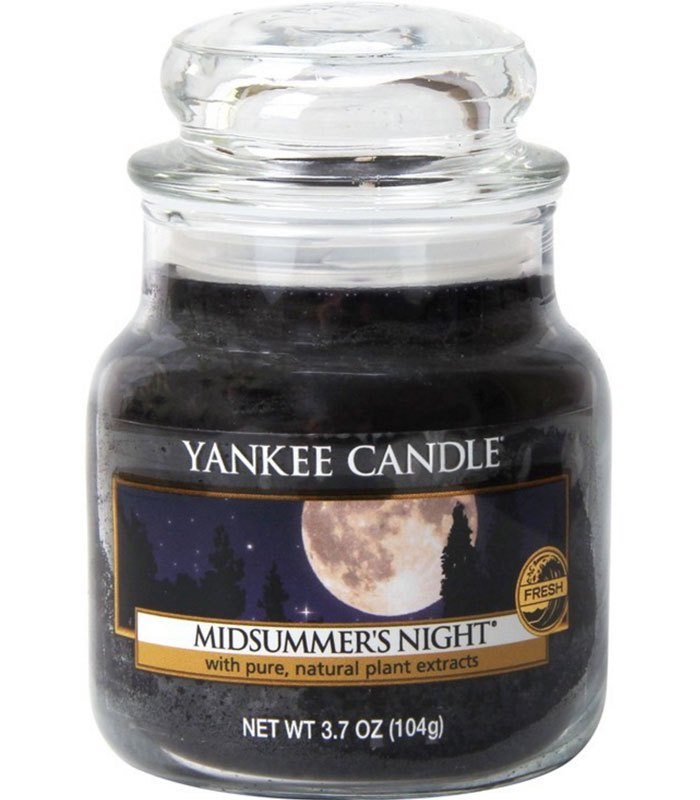 YANKEE CANDLE - 仲夏之夜香氛瓶中燭-3.7oz
