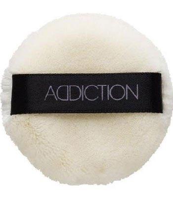 ADDICTION - 攜帶型透采定粧蜜粉用粉撲-1入