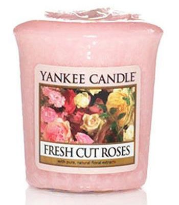 YANKEE CANDLE - 鮮切玫瑰花香祈禱燭-1.75oz