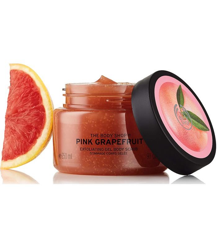 THE BODY SHOP - 粉紅葡萄柚活力身體磨砂膏-250ML