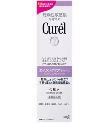 Curel - 逆齡彈潤精萃水-140ml