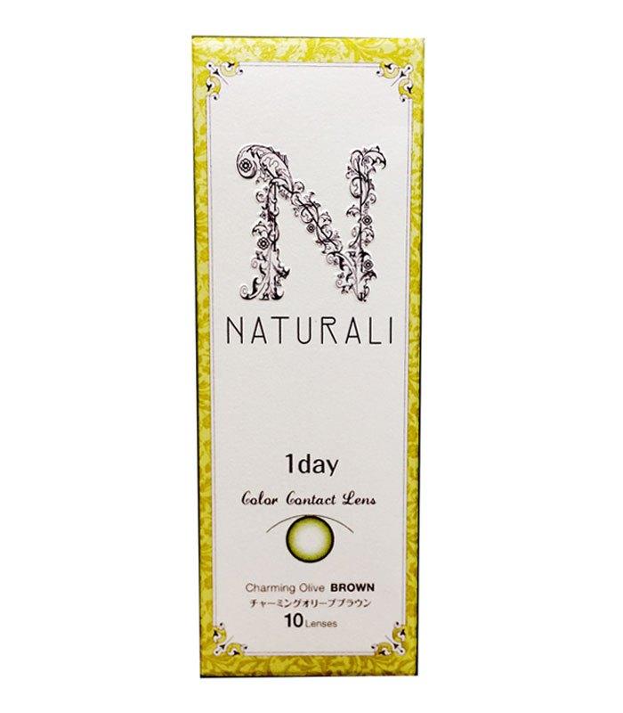 Naturali - 自然魅日拋彩色隱形眼鏡 - 萊姆棕