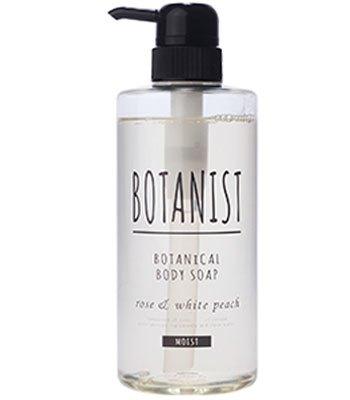 BOTANIST - 植物性沐浴乳(黑蓋保濕型)- 玫瑰白桃香-490ml