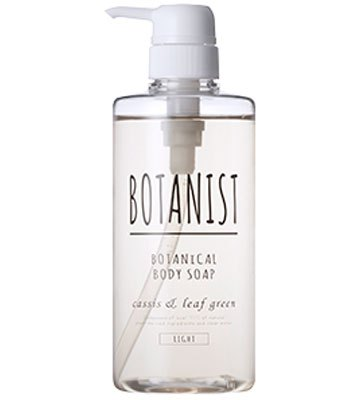 BOTANIST - 植物性沐浴乳(白蓋清爽型)- 黑醋綠松香-490ml