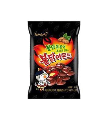異國零食 - 火辣雞肉風味杏仁果-30g
