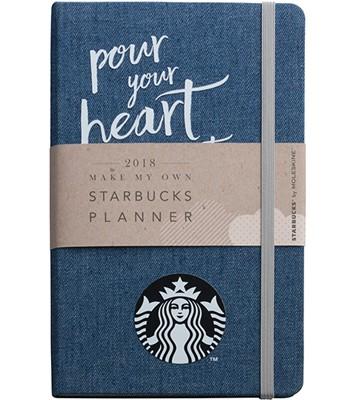 Starbucks Corporation - 18年曆Denim-1本