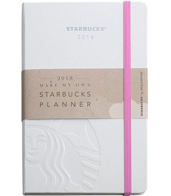 Starbucks Corporation - 18年曆White-1本