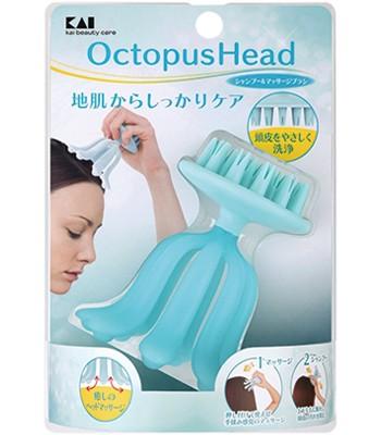 KAI - 8爪頭皮按摩洗頭刷-1入