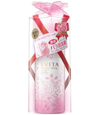 KANEBO  - 艾薇塔玫瑰泡沫潔顏慕斯- 粉紅限定版-150g