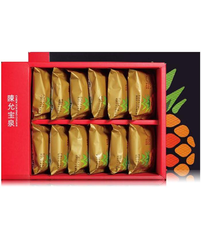 ChenYunPaoChuan - 原味鳳梨酥禮盒-12入