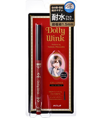 Japan buyer - KOJI DOLLY WINK超極細柔滑防水眼線膠筆