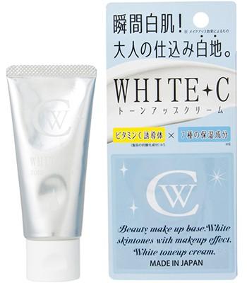 Japan buyer - WHITE C瞬間白肌素顏霜-50g