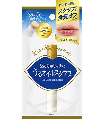 Japan buyer - BCL Oilcare限定唇部去角質磨砂棒-1入