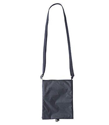 MUJI - 滑翔傘布肩背安全內袋(護照)/深藍-1入