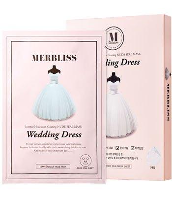 MERBLISS - 一代婚紗保濕面膜-5片