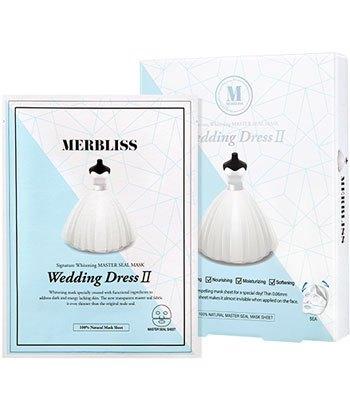 MERBLISS - 二代婚紗保濕面膜-5片
