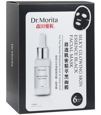 DR. JOU - 滑透肌密精萃黑面膜-6入