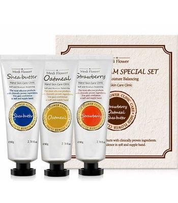 MYHUO Skincare Collection - Medi Flower經典護手霜禮盒-3入