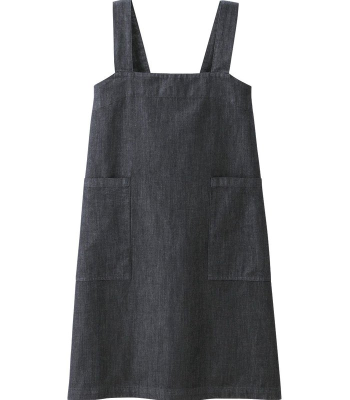 MUJI - 棉丹寧圍裙