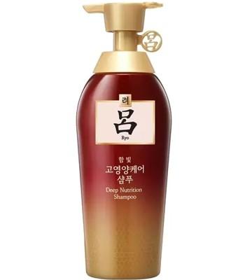 Ryoe - 韓方修護 洗髮精 極度受損髮質專用(漸層紅瓶金蓋)-400ml