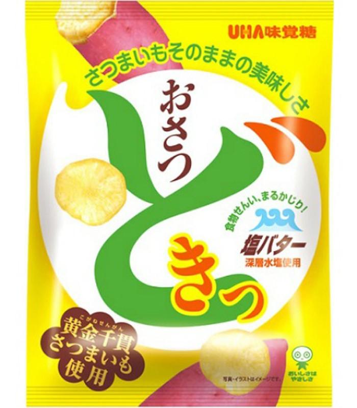 UHA - 鹽味奶油黃薯片-65g