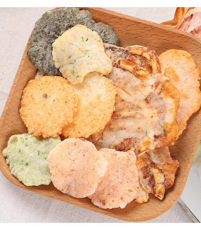 MyHuo Recommended Snacks (品牌85折) - 池田屋 綜合海鮮煎餅-150g