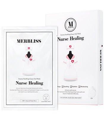 MERBLISS - 小護士紗布保濕面膜-5片