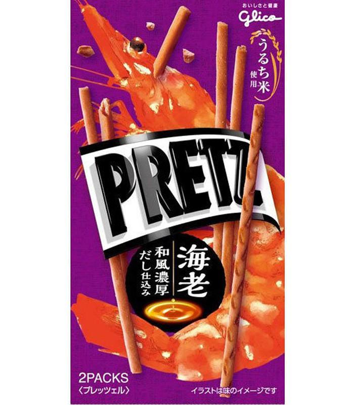 Pocky - 鮮蝦風味百利滋棒-55g
