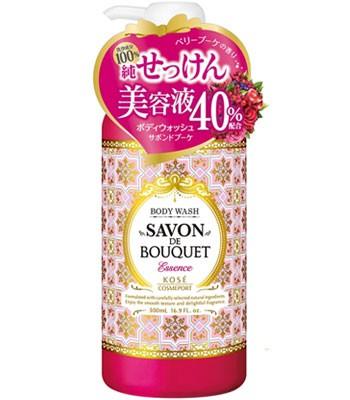 KOSE - 幸福花浴莓果柔膚沐浴乳-500ml