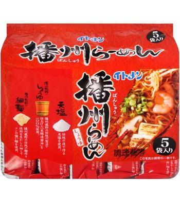 Japanese snacks - 伊藤播洲醬油拉麵-5包/袋