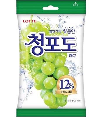 Lotte - 青葡萄糖果-119g