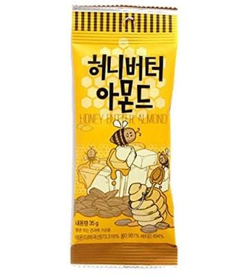 異國零食 - 蜂蜜奶油杏仁果-35g