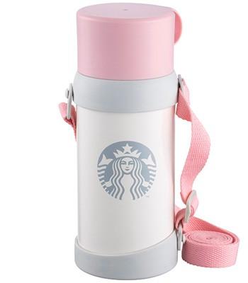 Starbucks Corporation - 20OZ粉杯珍珠白保溫水壺-1入