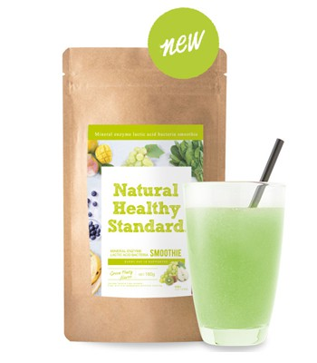 Japan buyer - Natural Healthy Standard酵素青汁瘦身代餐- 葡萄奇異果乳酸菌-160g