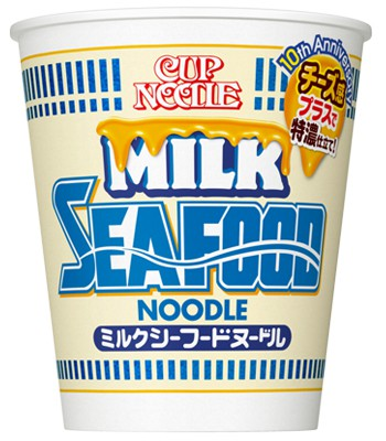 Japan buyer - 【期間限定】日清牛奶起司海鮮泡麵-60g