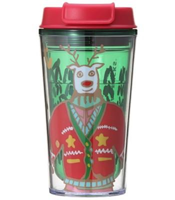 Japan buyer - 2017日本限定星巴克耶誕麋鹿冷水瓶355ml-1入