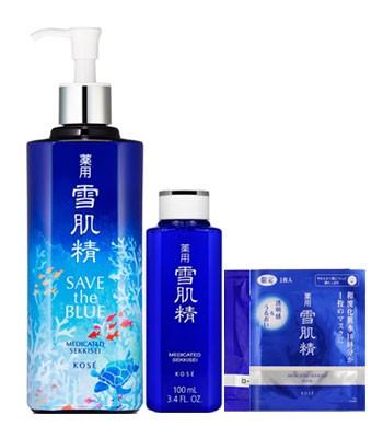 KOSE - 2017週年慶 -雪肌精珍愛海洋水面膜超值組【Myhuo獨家】