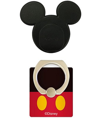 Japan buyer - 迪士尼手機防滑落指釦固定貼組