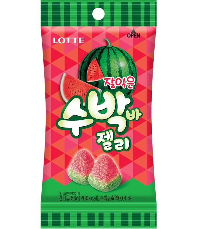 LOTTE - 西瓜軟糖-56g