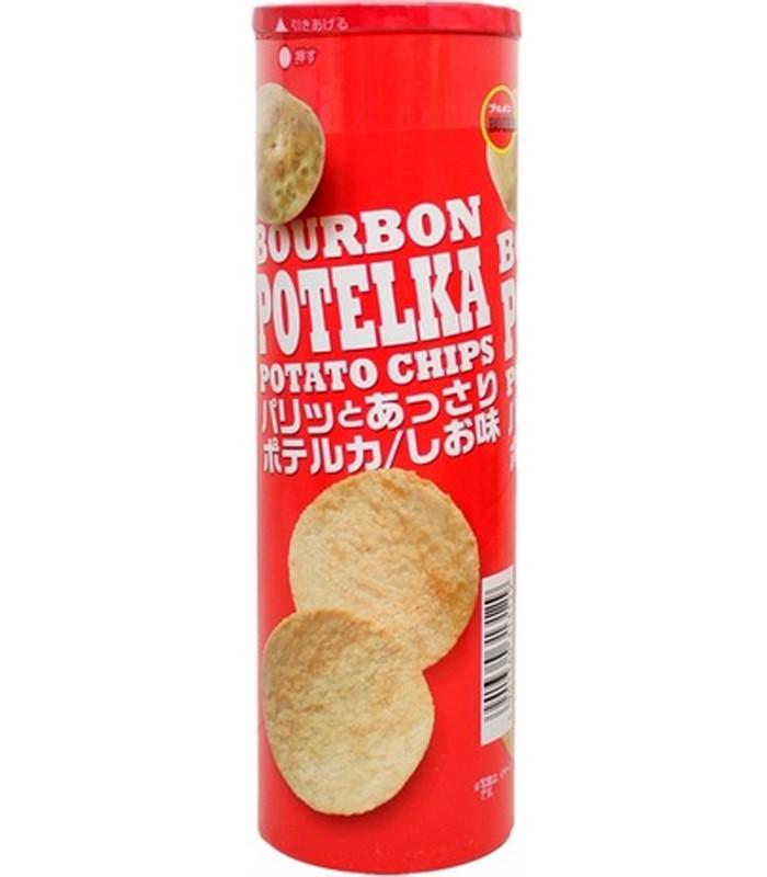 Bourbon - 洋芋片-鹽味-63g