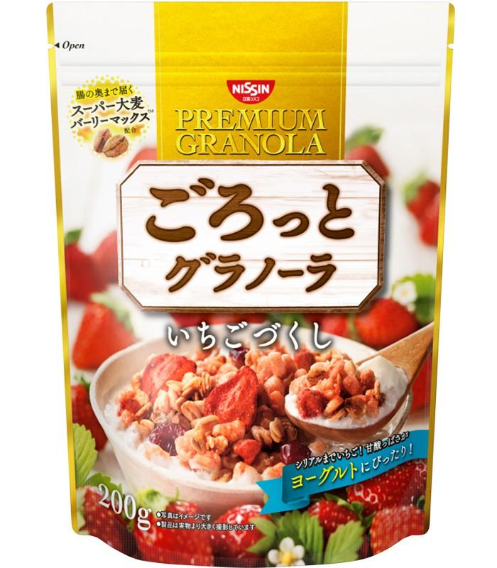 NISSIN - 早餐燕麥片-草莓味-200g-500g