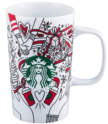 Starbucks Corporation - 12OZ耶誕故事馬克杯-1入