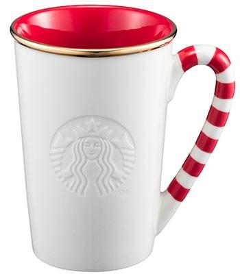 Starbucks Corporation - 12OZ拐杖糖馬克杯-1入