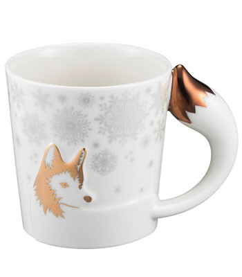Starbucks Corporation - 12OZ狐尾把手馬克杯-1入