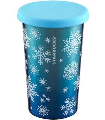 Starbucks Corporation - 12OZ雪花吊飾不鏽鋼杯-1入