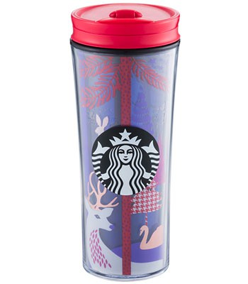 Starbucks Corporation - 12OZ森林夜訪隨行杯-1入