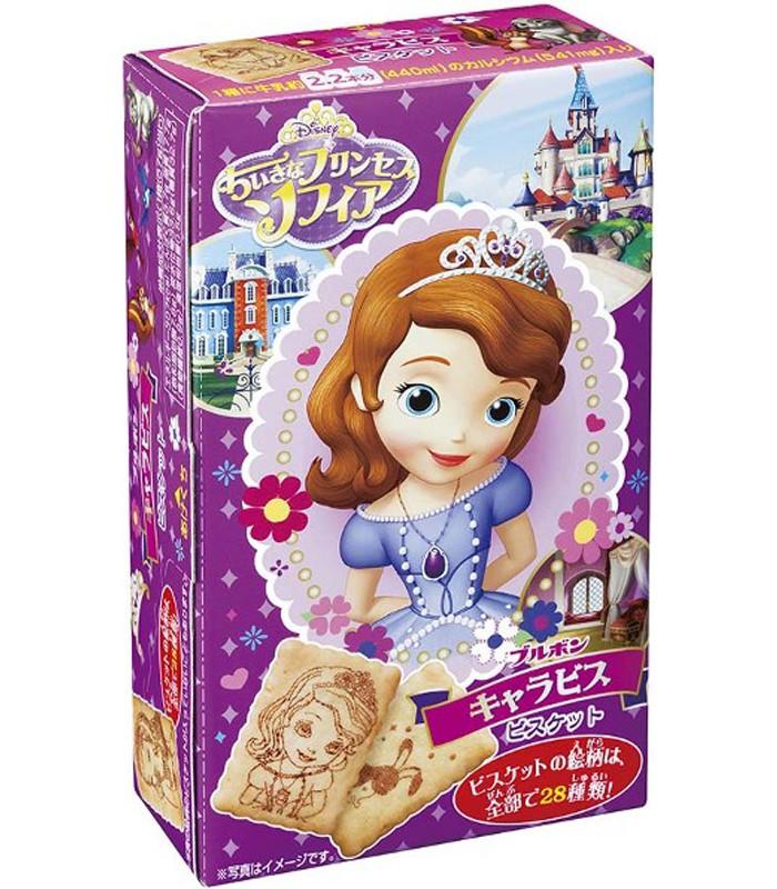 Bourbon - 迪士尼索菲亞公主餅乾-57g